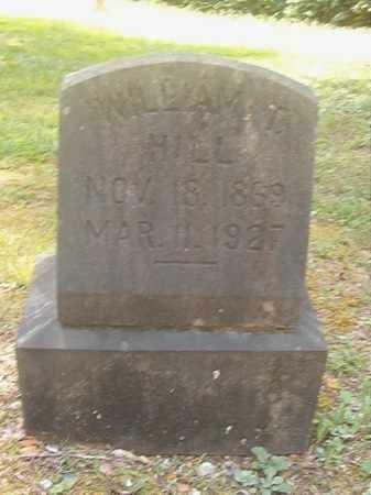 HILL, WILLIAM T - Calhoun County, Arkansas   WILLIAM T HILL - Arkansas Gravestone Photos