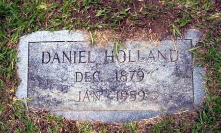 HOLLAND, DANIEL - Calhoun County, Arkansas | DANIEL HOLLAND - Arkansas Gravestone Photos