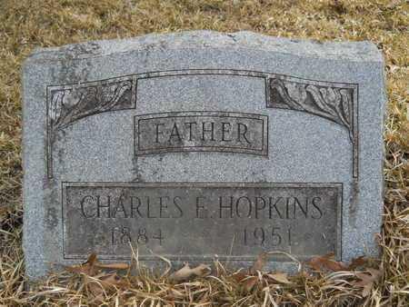 HOPKINS, CHARLES E - Calhoun County, Arkansas | CHARLES E HOPKINS - Arkansas Gravestone Photos