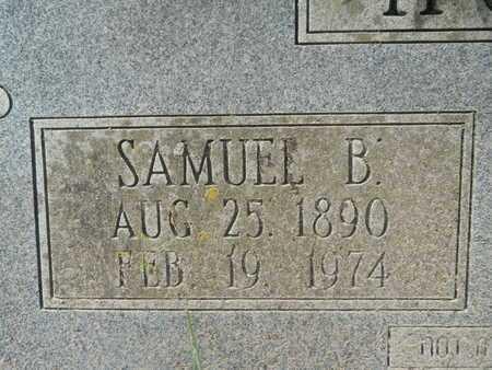 HOPKINS, SAMUEL B (CLOSEUP) - Calhoun County, Arkansas | SAMUEL B (CLOSEUP) HOPKINS - Arkansas Gravestone Photos