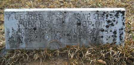 HOPKINS, SARAH E - Calhoun County, Arkansas | SARAH E HOPKINS - Arkansas Gravestone Photos