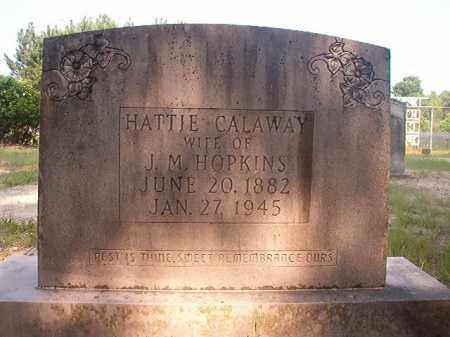 HOPKINS, HATTIE - Calhoun County, Arkansas | HATTIE HOPKINS - Arkansas Gravestone Photos