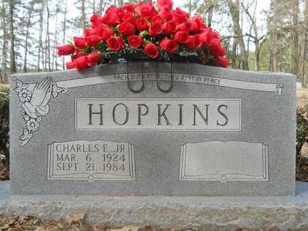 HOPKINS, JR, CHARLES E - Calhoun County, Arkansas | CHARLES E HOPKINS, JR - Arkansas Gravestone Photos