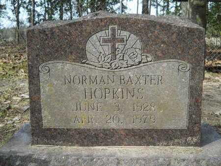 HOPKINS, NORMAN BAXTER - Calhoun County, Arkansas | NORMAN BAXTER HOPKINS - Arkansas Gravestone Photos