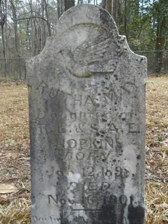 HOPKINS, RUTHA MAY - Calhoun County, Arkansas | RUTHA MAY HOPKINS - Arkansas Gravestone Photos