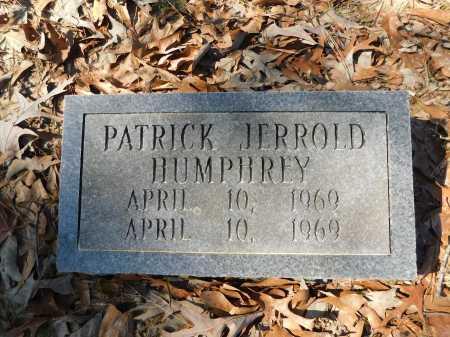 HUMPHREY, PATRICK JERROLD - Calhoun County, Arkansas   PATRICK JERROLD HUMPHREY - Arkansas Gravestone Photos
