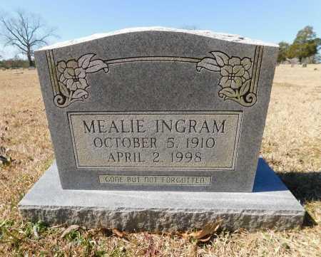 INGRAM, MEALIE - Calhoun County, Arkansas | MEALIE INGRAM - Arkansas Gravestone Photos