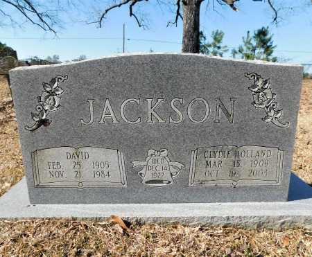 HOLLAND JACKSON, CLYDIE - Calhoun County, Arkansas   CLYDIE HOLLAND JACKSON - Arkansas Gravestone Photos