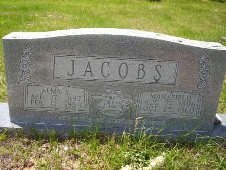 JACOBS, ALMA L - Calhoun County, Arkansas | ALMA L JACOBS - Arkansas Gravestone Photos