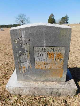 JOHNSON, FREEMAN - Calhoun County, Arkansas   FREEMAN JOHNSON - Arkansas Gravestone Photos