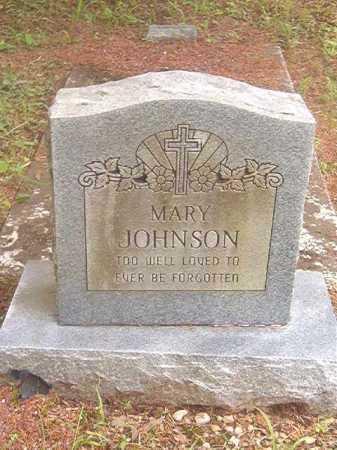JOHNSON, MARY - Calhoun County, Arkansas   MARY JOHNSON - Arkansas Gravestone Photos