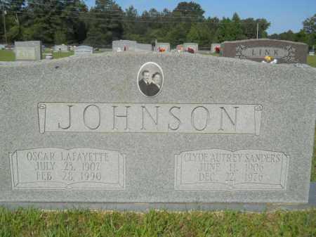 JOHNSON, CLYDE AUTREY - Calhoun County, Arkansas   CLYDE AUTREY JOHNSON - Arkansas Gravestone Photos