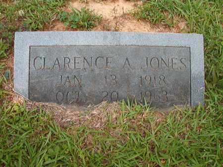JONES, CLARENCE A - Calhoun County, Arkansas   CLARENCE A JONES - Arkansas Gravestone Photos