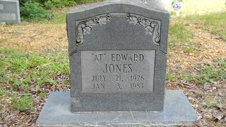 "JONES, EDWARD ""AT"" - Calhoun County, Arkansas | EDWARD ""AT"" JONES - Arkansas Gravestone Photos"