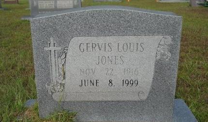 JONES, GERVIS LOUIS - Calhoun County, Arkansas | GERVIS LOUIS JONES - Arkansas Gravestone Photos