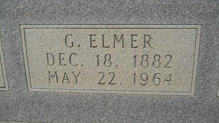 JONES, GARDNER ELMER (CLOSEUP) - Calhoun County, Arkansas   GARDNER ELMER (CLOSEUP) JONES - Arkansas Gravestone Photos