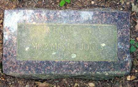 JONES, INFANT - Calhoun County, Arkansas   INFANT JONES - Arkansas Gravestone Photos