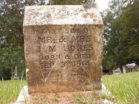 JONES, INFANT SON - Calhoun County, Arkansas | INFANT SON JONES - Arkansas Gravestone Photos