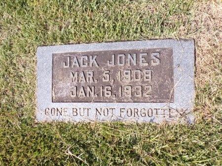 JONES, JACK - Calhoun County, Arkansas | JACK JONES - Arkansas Gravestone Photos