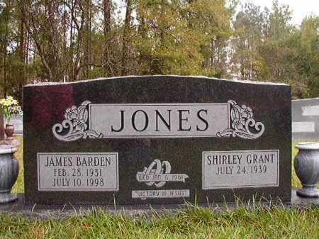 JONES, JAMES BARDEN - Calhoun County, Arkansas | JAMES BARDEN JONES - Arkansas Gravestone Photos