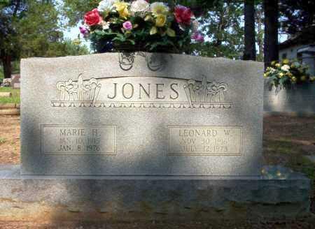 JONES, MARIE H - Calhoun County, Arkansas   MARIE H JONES - Arkansas Gravestone Photos