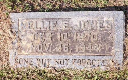 JONES, NELLIE E - Calhoun County, Arkansas | NELLIE E JONES - Arkansas Gravestone Photos