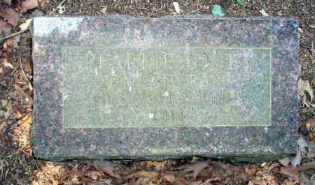 JONES, PEARLIE - Calhoun County, Arkansas   PEARLIE JONES - Arkansas Gravestone Photos
