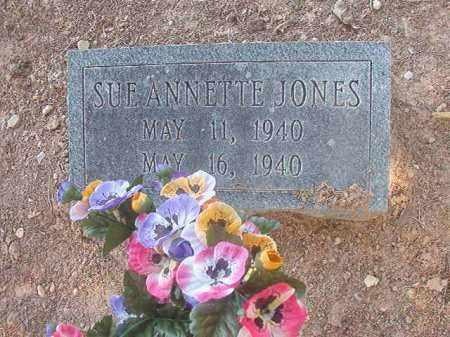 JONES, SUE ANNETTE - Calhoun County, Arkansas | SUE ANNETTE JONES - Arkansas Gravestone Photos