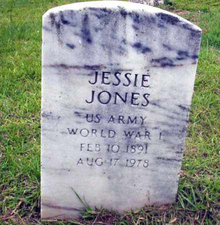 JONES (VETERAN WWI), JESSIE - Calhoun County, Arkansas | JESSIE JONES (VETERAN WWI) - Arkansas Gravestone Photos