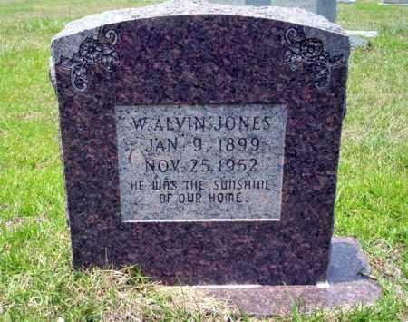 JONES, W ALVIN - Calhoun County, Arkansas | W ALVIN JONES - Arkansas Gravestone Photos