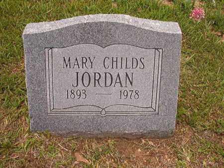 JORDAN, MARY - Calhoun County, Arkansas | MARY JORDAN - Arkansas Gravestone Photos