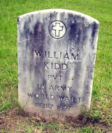 KIDD (VETERAN WWI), WILLIAM - Calhoun County, Arkansas | WILLIAM KIDD (VETERAN WWI) - Arkansas Gravestone Photos