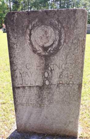 KING, CARTER HAMILTON - Calhoun County, Arkansas | CARTER HAMILTON KING - Arkansas Gravestone Photos