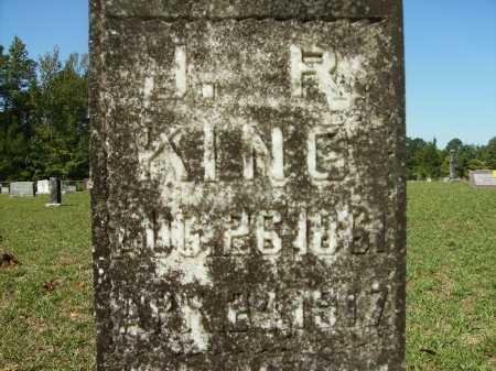 KING, JOHN REUBEN (CLOSEUP) - Calhoun County, Arkansas | JOHN REUBEN (CLOSEUP) KING - Arkansas Gravestone Photos