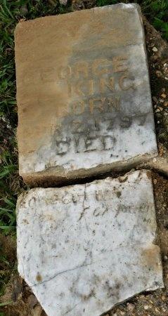 KING, GEORGE - Calhoun County, Arkansas | GEORGE KING - Arkansas Gravestone Photos