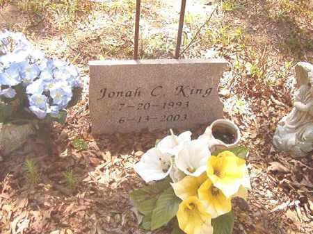 KING, JONAH C - Calhoun County, Arkansas | JONAH C KING - Arkansas Gravestone Photos