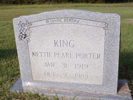 KING, NETTIE PEARL - Calhoun County, Arkansas | NETTIE PEARL KING - Arkansas Gravestone Photos