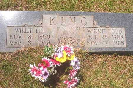 KING, WINNIE - Calhoun County, Arkansas | WINNIE KING - Arkansas Gravestone Photos