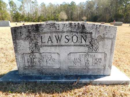 LAWSON, BERTHA - Calhoun County, Arkansas | BERTHA LAWSON - Arkansas Gravestone Photos