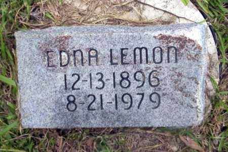 LEMON, EDNA - Calhoun County, Arkansas | EDNA LEMON - Arkansas Gravestone Photos