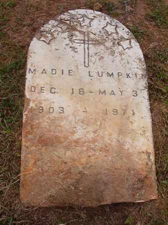 LUMPKIN, MADIE - Calhoun County, Arkansas | MADIE LUMPKIN - Arkansas Gravestone Photos