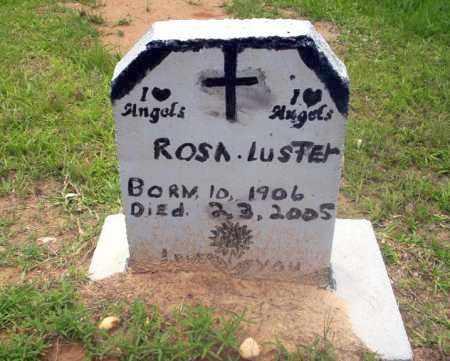 LUSTER, ROSA - Calhoun County, Arkansas | ROSA LUSTER - Arkansas Gravestone Photos