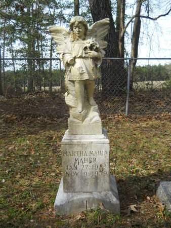 MAHER, MARTHA MARIA - Calhoun County, Arkansas | MARTHA MARIA MAHER - Arkansas Gravestone Photos