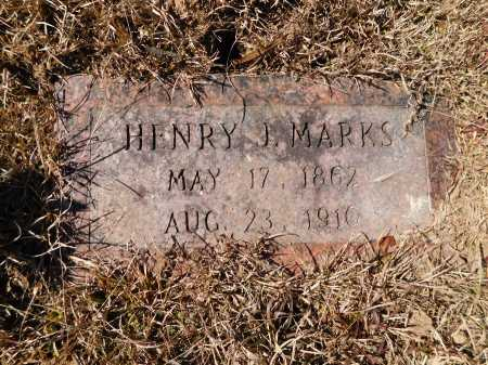 MARKS, HENRY J - Calhoun County, Arkansas | HENRY J MARKS - Arkansas Gravestone Photos