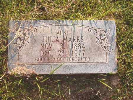 MARKS, JULIA - Calhoun County, Arkansas | JULIA MARKS - Arkansas Gravestone Photos