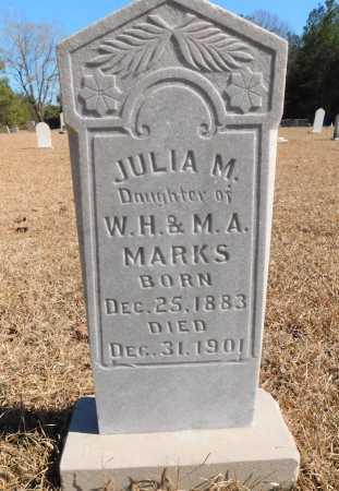 MARKS, JULIA M - Calhoun County, Arkansas | JULIA M MARKS - Arkansas Gravestone Photos