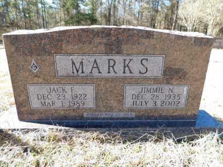 MARKS, JACK F - Calhoun County, Arkansas | JACK F MARKS - Arkansas Gravestone Photos