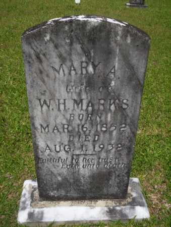 MARKS, MARY A - Calhoun County, Arkansas | MARY A MARKS - Arkansas Gravestone Photos