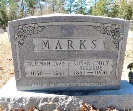 MARKS, SUSAN EMILY - Calhoun County, Arkansas | SUSAN EMILY MARKS - Arkansas Gravestone Photos