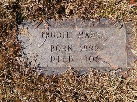 MARKS, TRUDIE - Calhoun County, Arkansas   TRUDIE MARKS - Arkansas Gravestone Photos